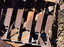 Plate and Structural Scrap Metal